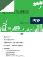 Efficient Carbon Company Profile
