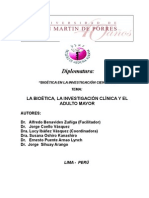 Novena Sesion Investigación > Investigacion Bioetica y El Adulto Mayor