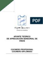 Apreciación Sensorial de Vinos . CP . CD . 2010