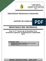 37548244 Support de Cours Resistance Des Materiaux