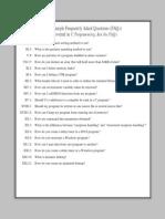 Sample FAQ