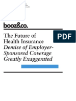BoozCo Future of Health Insurance
