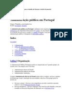 Administração pública em Portugal