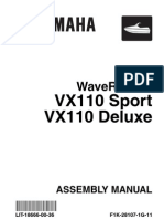 Yamaha Owners Manual VX110
