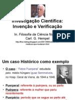 Investigação Científica Invenção e Verificação