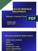 minerio lavrado