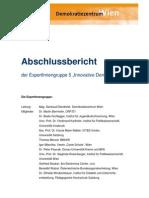 Innovative Demokratie Bericht