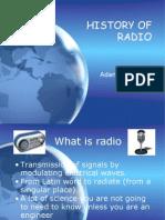 Mat 183 History of Radio