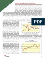 Entergy's Economic Trends October 2011 Analysis