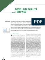 Un modello di qualità per i siti web