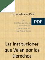 Los derechos en Perú