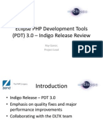 Eclipse PDT - Indigo Release Review