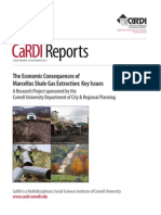 """""""The Economic Consequences of Marcellus Shale Gas Extraction"""