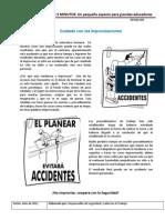 Info 032 SSO Cuidado Con Las Improvisaciones