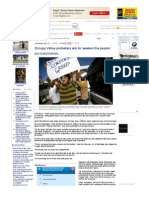 Occupy Valley Protesters Aim to 'Awaken the People' - LA Daily News