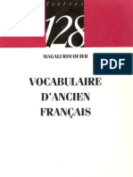 20906943 Vocabulaire d Ancien Francais