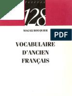 20906943 Vocabulaire d Ancien Francais