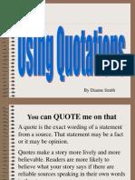 06.1 Quotations