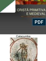 a arte cristã primitiva e medieval