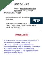 Anatomia y Fisiologia Clase #1