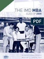 MBA Class Profile