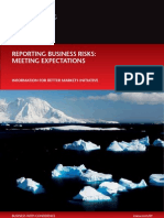 ICAEW Report on Risk Reporting