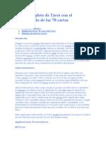 Curso Completo de Tarot Con El Significado de Las 78 Cartas