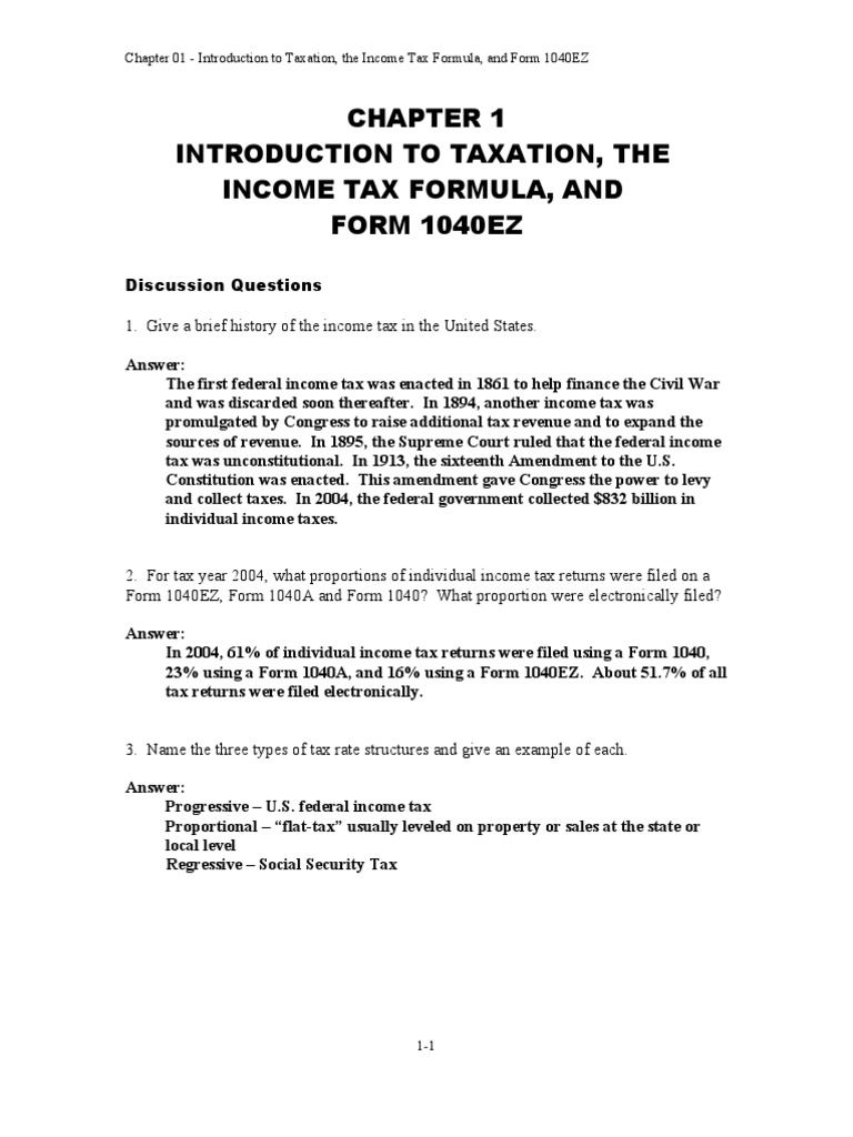 federal taxation 34 edition chapter 11 question answer Pearson's federal taxation comprehensive (2017 edition) chapter i:11 — accounting periods and methods chapter c:14 — income taxation of trusts and estates.