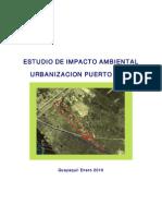 Estudio de Impacto Ambiental Urbanizacion Puerto Real