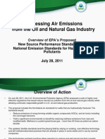 Addressing Air Emissions from the Oil and Natural Gas Industry