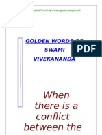 Golden Words of Swami Vivekananda