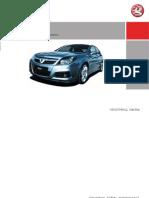 Manual Engleza Opel Signum - Vectra c