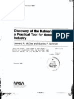 Schmidt - History of Kalman Filter - Nasa Report