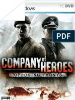 Company of Heroes - Opposing Fronts - Manual - PC