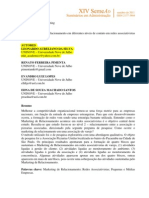 Artigo Do Semead - Associativismo e Mr - 2011