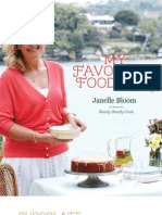 My Favourite Food For All Seasons by Janelle Bloom -- FREE Chocolate Weet-Bix Slice Recipe Sampler