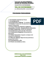 Programa Descripcion y Convocatorias