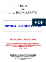 9. optica. problemas resueltos