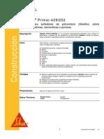 Primario Sell Adores Poliuretano Sikaflex Primer 429 202