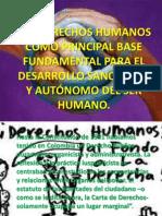 Los Derechos Humanos Como Principal Base Fundamental Para