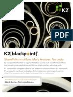 K2 Business Process Management Black Point