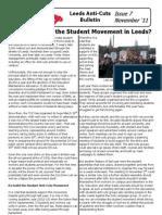 Leeds Anticuts Bulletin 7