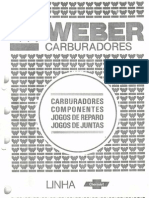 Catálogo Carburadores Weber