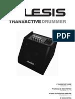 Trans Active Drummer - Quick Start Guide - RevD