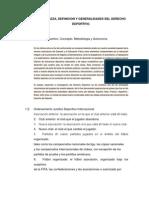 Derecho Deportivo. Investigacion