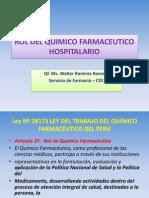 Rol Del Quimico Farmaceutico -Wrr