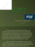 Amplificadores Parametricos