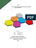 Paper QFD (Jimmy Sibagariang NIM ACE 109 007)baru