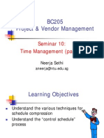 Seminar 10 - Time Management II