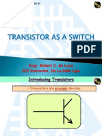 I. Transistor as a Switch